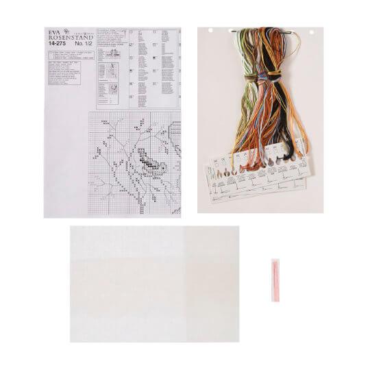 Permin 28x35 cm Erkek Çocuğu Desenli Etamin Kiti - 14275