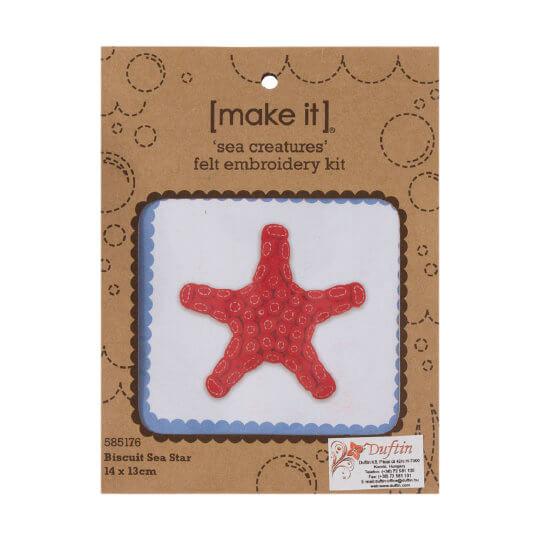Duftin Make it 12x11 cm Deniz Yıldızı Keçe Kiti - 585176