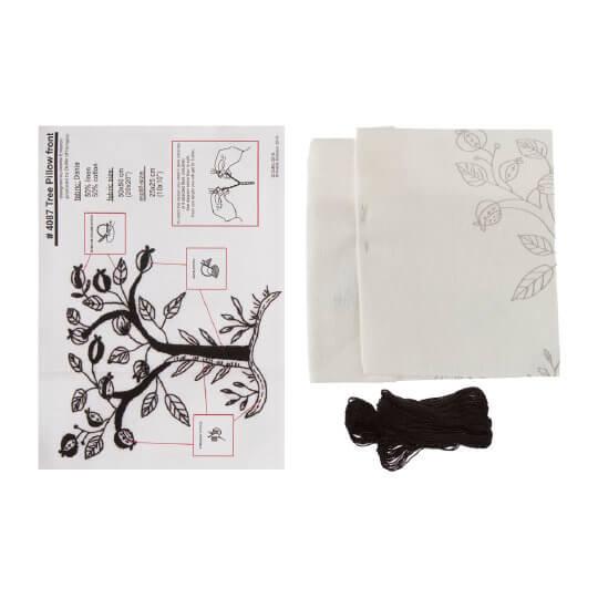 Duftin 50x50 Cm Ağaç Yastık Çin İğnesi Nakış Kiti -04087-aa1302
