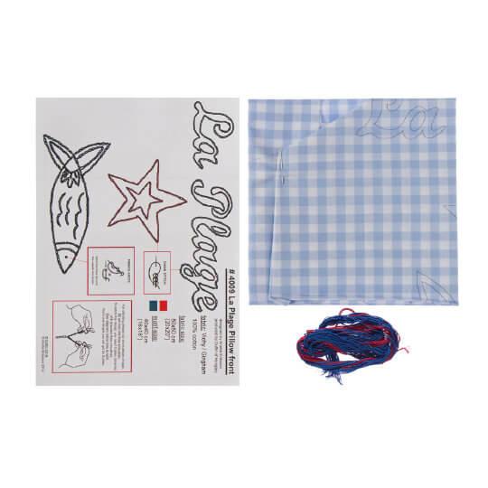 Duftin 50x50 Cm Balık Yastık Çin İğnesi Nakış Kiti -04009-aa1309