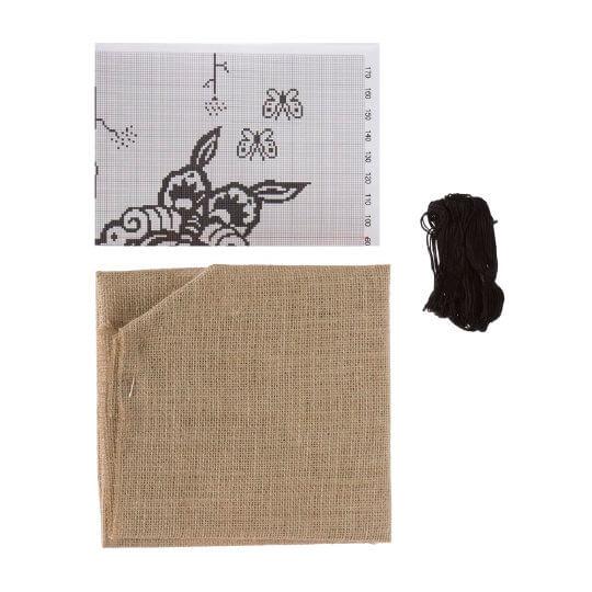 Duftin 50x50 Cm Kelebek Yastık Çin İğnesi Nakış Kiti -04006-aa1079