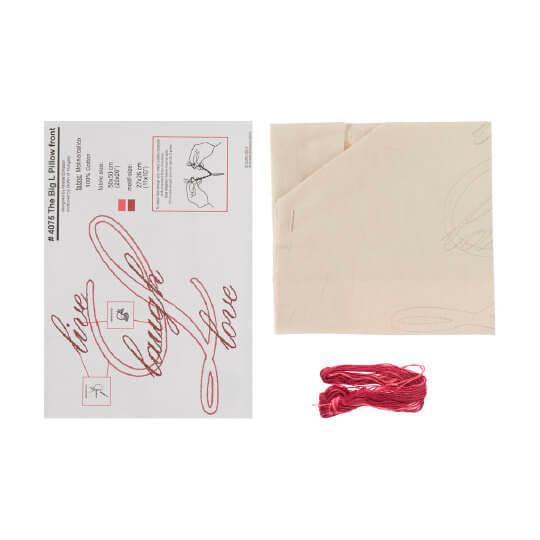 Duftin 50x50 Cm Krem Rengi Yastık Çin İğnesi Nakış Kiti - 04075-aa1093