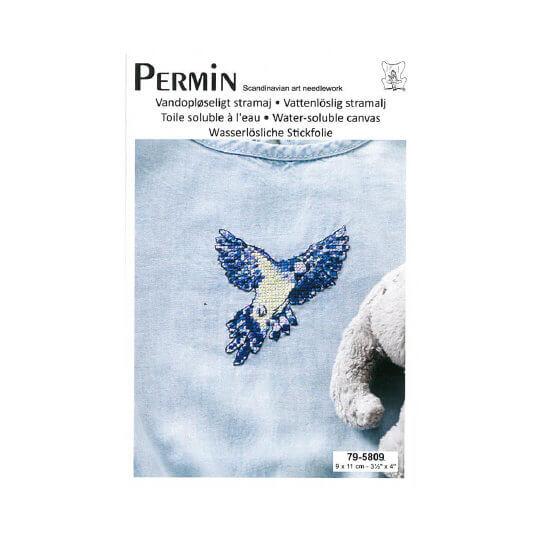 Permin 7x9 cm Kuş Desenli Suda Eriyebilen Etamin Kiti - 795809