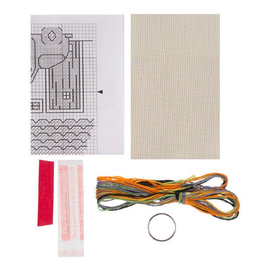 Permin 5x7 cm Ev ve Araba Desenli Anahtarlık Etamin Kiti - 114317