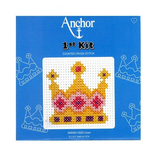 Anchor Taç Desenli Çocuk Etamin Kiti - 3690000-10020