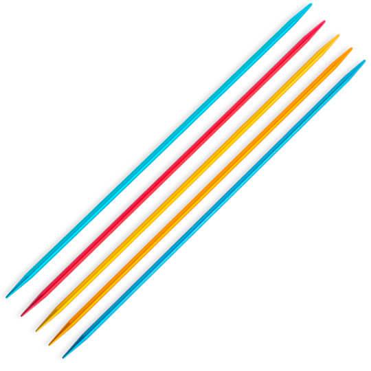 Addi Colibri 3,25mm 15cm Renkli Çorap Şişi - 204-7