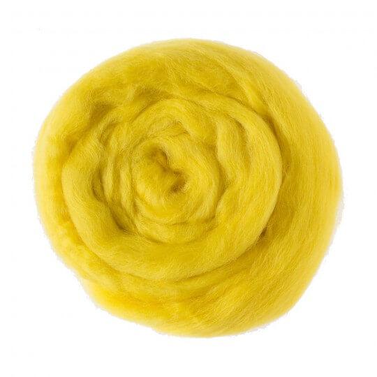 Kartopu Sarı Yün Keçe - 323