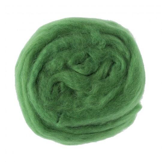 Kartopu Yeşil Yün Keçe - 392