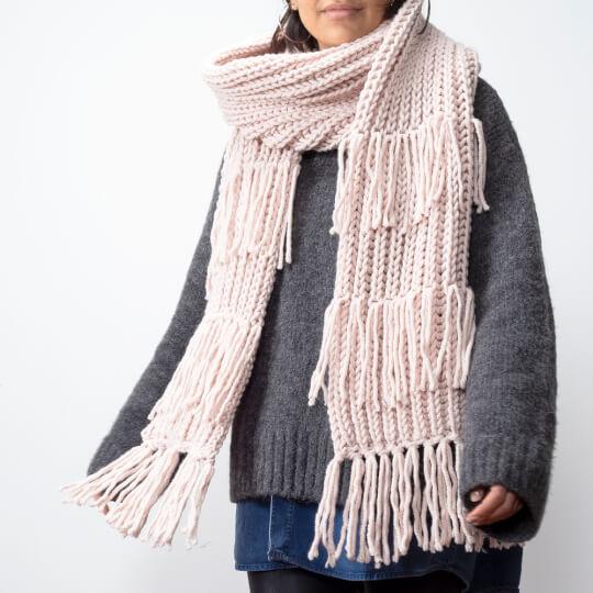 Kartopu Elite Wool Grande Pembe El Örgü İpi - K1873