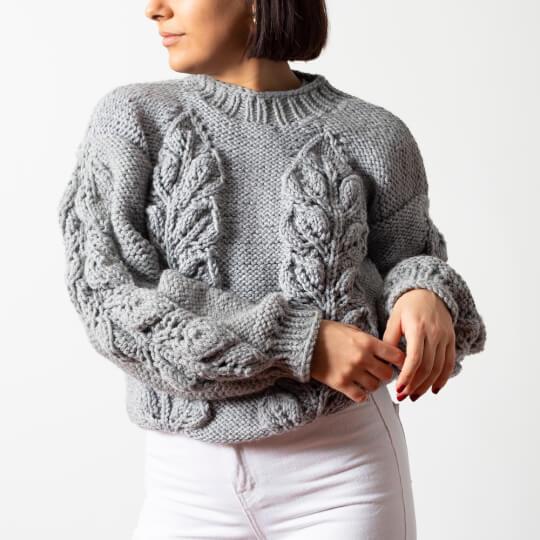 Kartopu Elite Wool Grande Bordo El Örgü İpi - K1105