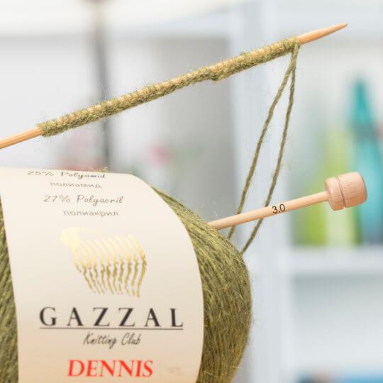Gazzal Dennis Koyu Kahverengi El Örgü İpi - 906