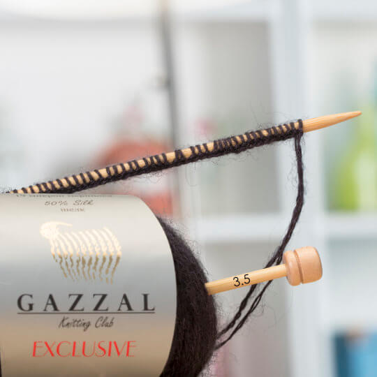 Gazzal Exclusive Gri El Örgü İpi - 9908