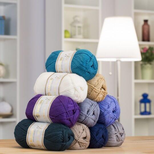 Kartopu 5'li Paket Lamb's Wool Bej El Örgü İpi - K837