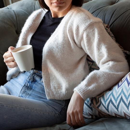 Kartopu Melange Wool Bej El Örgü İpi - K8011