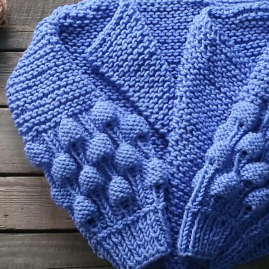 Yarnart  Merino Bulky Mavi El Örgü İpi - 3864