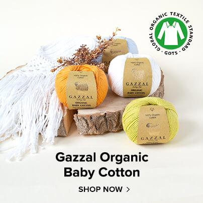 Gazzal Baby Cotton Organik