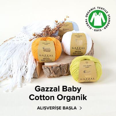 Gazzal Organik Baby Cotton